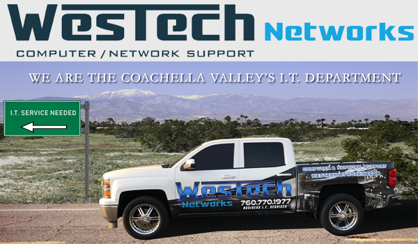 WesTech Networks new Truck Wrap By: SOLO WRAPS