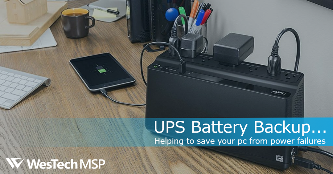 The importance of a Battery Backup UPS